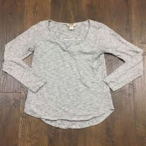 Lucky Brand Tops - Lucky Brand mini striped henley top
